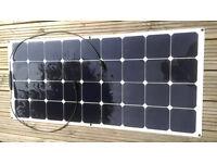 NEW 100W Marine Flexible Solar PanelsSUNPOWER SOLAR CELLS caravans, motorhomes, boats