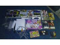 Wii and games and ds games and PSP games