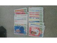 match attax 2010 100 base cards