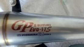 Yoshimura GP Evo 6S slip on for Suzuki GSXS,F