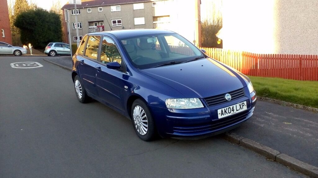 fiat stilo 2004 1 4 blue 5 doors long mot in kilsyth. Black Bedroom Furniture Sets. Home Design Ideas