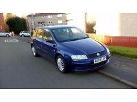 FIAT Stilo 2004,1.4,blue, 5 doors, MOT till September/17, Low milage!