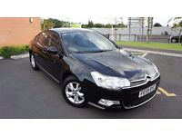 Citroen C5 1.6 HDi VTR+ 4dr FULL SERVICE HISTORY BLUETOOTH Alloy Wheels (17in) 116000 miles