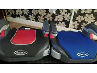 Two Graco junior seat age 4 till 10