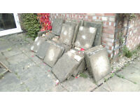 2ft x 2 ft Paving Slabs. 50p each
