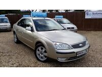 TOP OF THE RANGE DIESEL FORD MONDEO & NEW MOT AND WARRANTY INCLUDE ON SALE