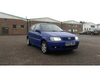 VW Polo Blue for Sale Exeter