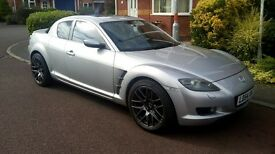 Mazda RX8 231 Satnav sunroof model SOLD