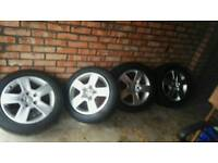 16in alloys and tyres