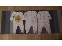 Bundle of Baby Girl Clothes for 3-6m