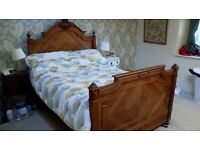 Antique French double Bed