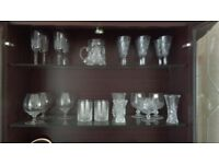 Cut glass/crystal ware