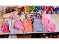**BARGAIN BUNDLE** 10 items of girls clothing - hardly worn/unworn at nana's house