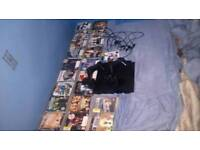 07396079886 CHRISTMAS DEAL 500 GB PLAYSTATION 3 SLIM (PS3) X4 CONTROLLERS 21 GAMES