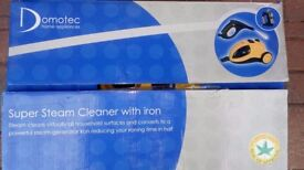 Domotec Steam Cleaner with iron