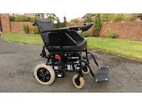 Invacare Harrier Plus Electric Motorised Wheelchair - Twin Battery Model