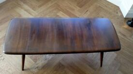 Ercol Coffee Table - Dark Wood
