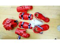 Martial arts sparing kit