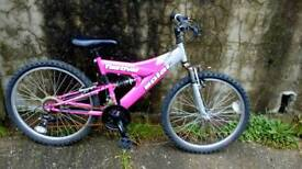 Girls bike 18 gears