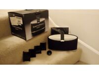 Bowers Wilkins Zeppelin Mini iPod/iphone dock with remote and attachments
