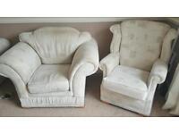 FREE 2 piece sofa & 2 chairs