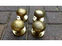 Brass Door knobs for sale £8