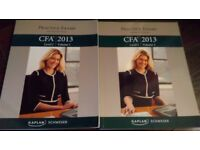 CFA Level 1 Kaplan Schweser Practice Exam books (new condition)