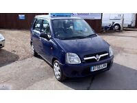 LOW MILEAGE VAUXHALL AGILA & NEW MOT AND WARRANTY INCLUDE ON SALE