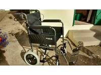 Roma Medical Ultra Lightweight Wheelchair 1232