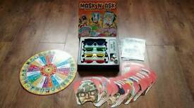 Mask n Ask board game (similar to Who Am I or Hedbanz)