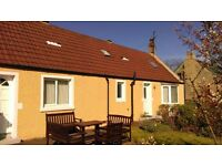 ALVA COTTAGE, Paxton, Berwickshire, Scottish Borders, 7 nts £425 (£55 Off) Sat 30th Jul- Sat 6th Aug