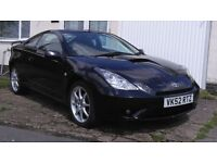 Toyota Celica T Sport (2002) Pre Facelift. 6 speed Manual Gearbox, VVTL-I in Storm Blue Metallic