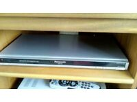 Panasonic DVD player and recorder