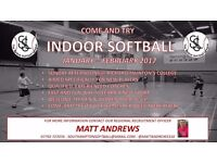 SOFTBALL - Indoor training for brand new players