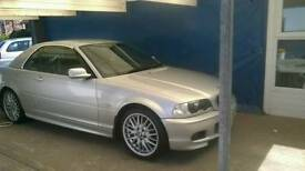 2002 Bmw 3 series convertible with hard top