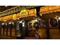 Indian Restaurant - Waiter / Waitress / Bar Staff