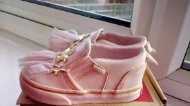 VANS infant princess shoes UK 5.5
