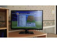 "LG 22"" Full HD TV with Box"