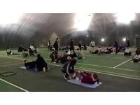 *4 week FREE indoor bootcamp for all*
