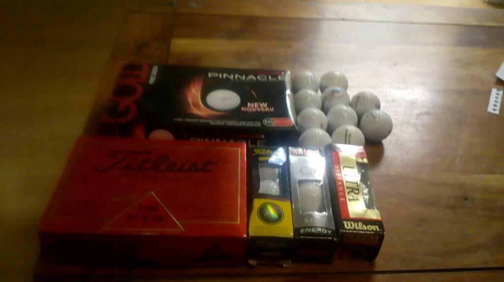 Golf balls x 46