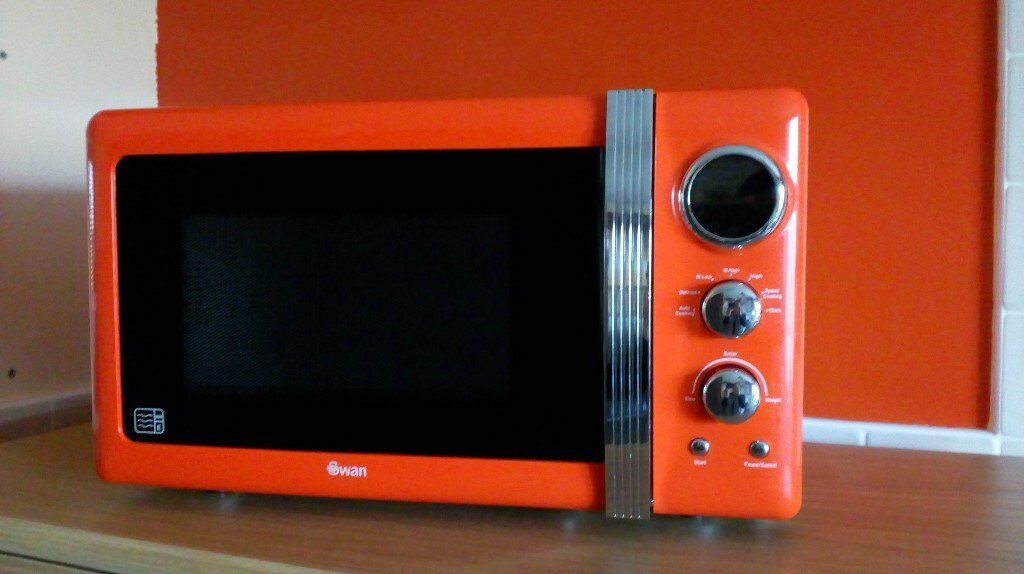 Orange Swan Microwave For Sale Available In Bridge