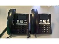BT Paragon 650 Corded Phone - Black (2 phones)