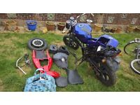 Hyosung GT 125 Naked Spares and Repairs Job Lot