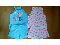 Girls summer suits