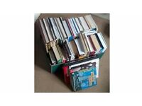 Box Of Book Paperback & Hardback Some Novels, Cooking, Gardening, Travel & Lifestyles