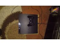 PS3 , 150 GB , + 18 games and one wireless controller .