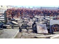 Limestone sandstone flagstones slabs