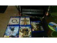 500 GB PlayStation 4 with 7 games