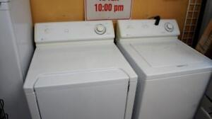 3 WORKING  WASHER DRYER SETS FOR SALE PRICED EACH TOP AND FRONT LOADERS