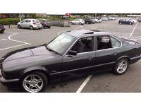 Classic BMW E34 540i Auto Black leather. not e28 e30 e32 e36. MOT